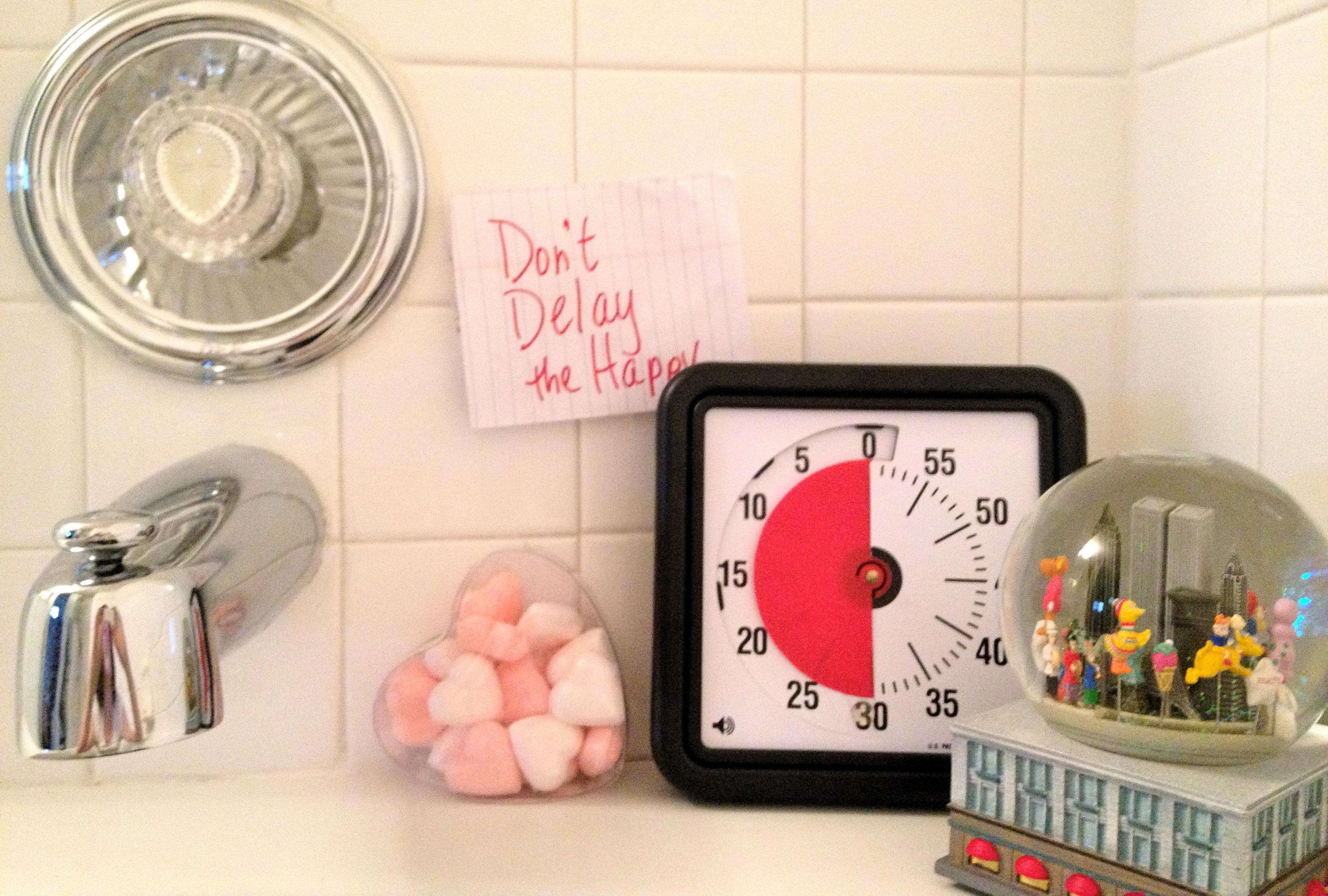 time timer baño