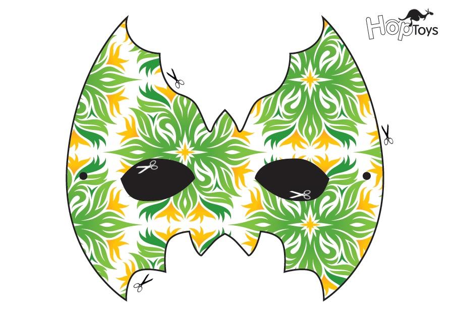 máscara niña 2