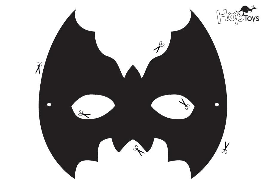 máscara niño