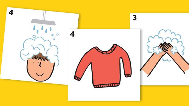 Pictogramas para facilitar los gestos del d a a d a hop 39 toys - Trucos para ir al bano todos los dias ...