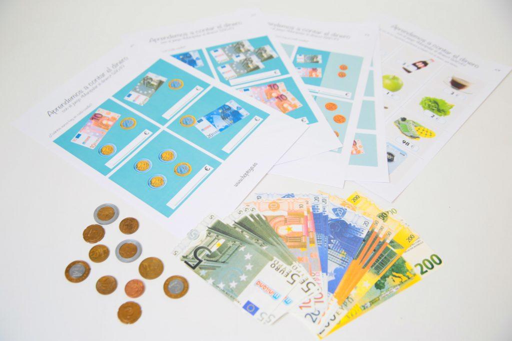 aprender a manipular el dinero