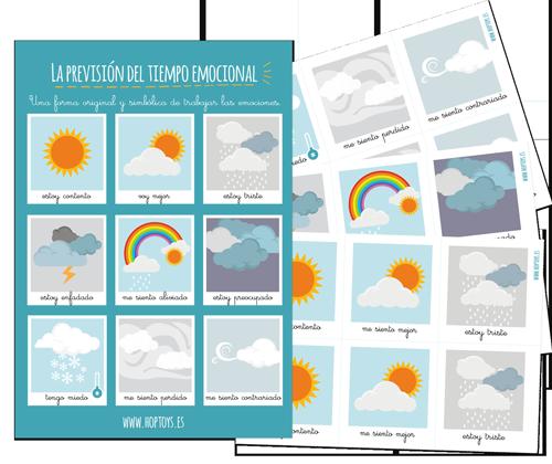 Imprime tu kit « La previsión del tiempo emocional »