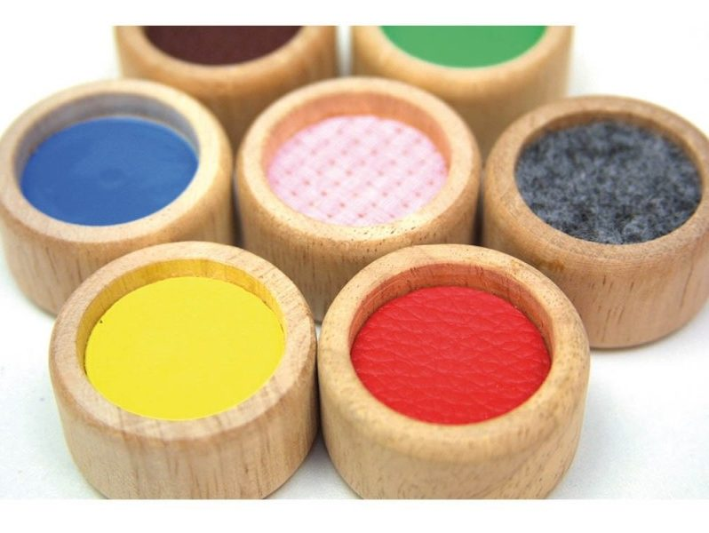 superficies táctiles de montessori