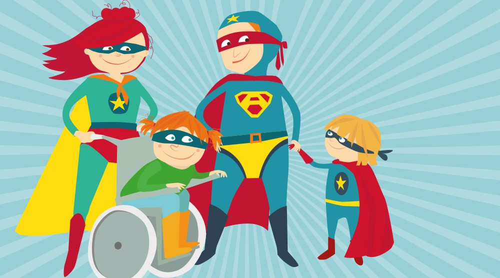 Discapacidad: Cuando Los Niños Son Héroes