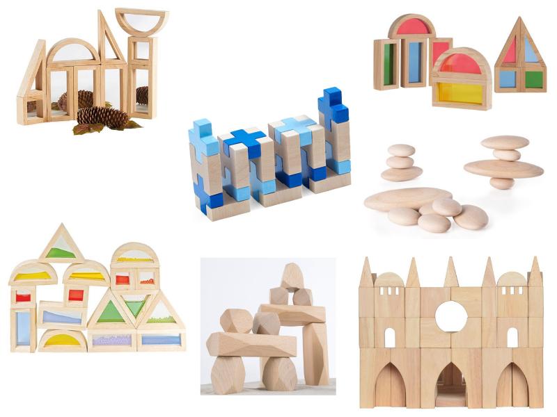 juegos de construcción de madera: juegos atemporales