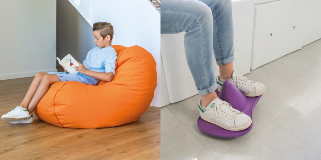 Combatir el sedentarismo con asientos flexibles