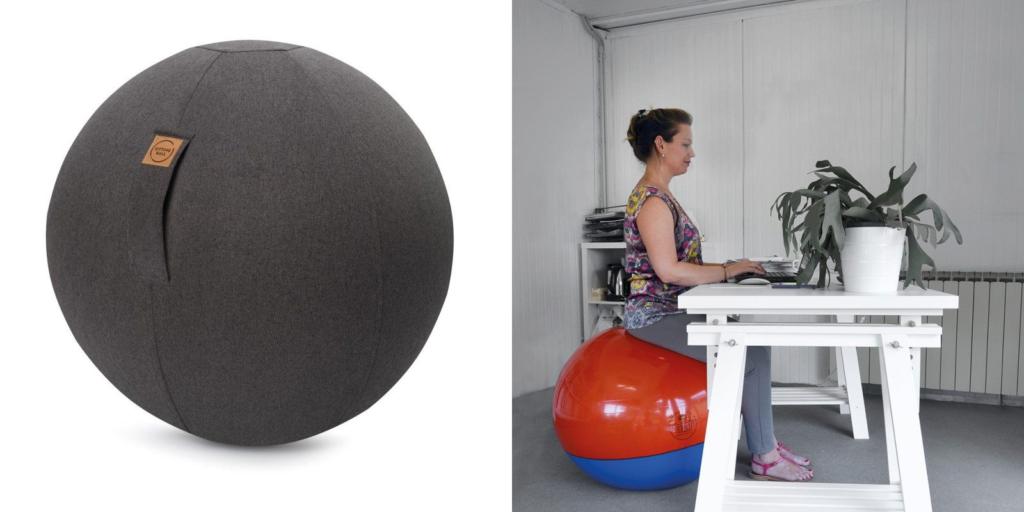 Combatir el sedentarismo usando pelotas dinámicas
