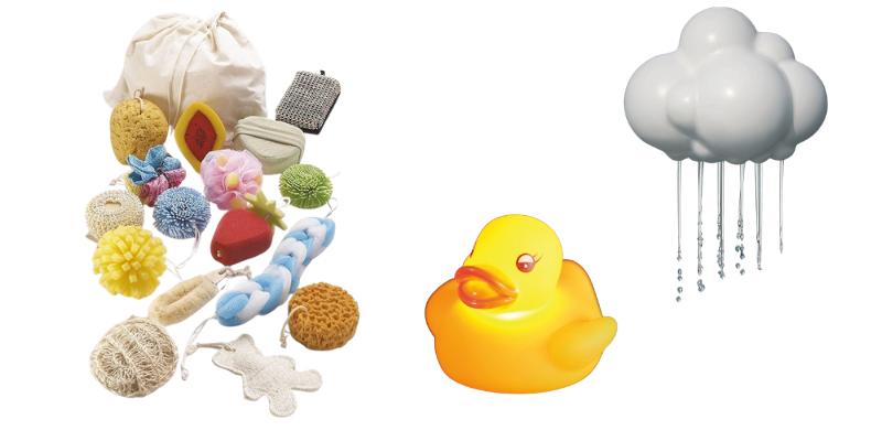 Actividades sensoriales: el baño
