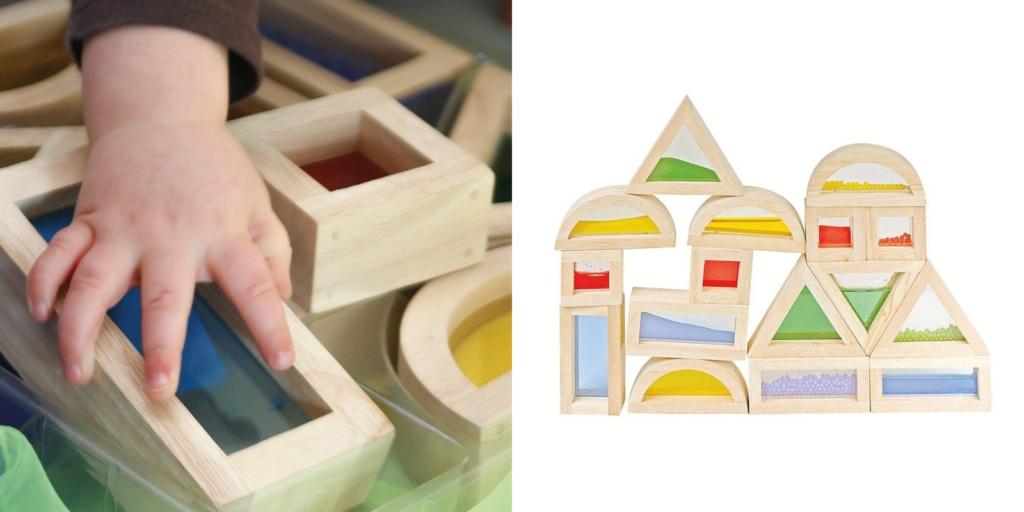 Actividades sensoriales: juegos de construcción